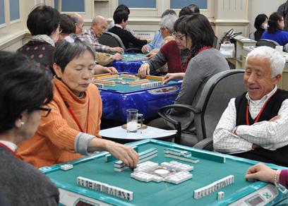 健康麻雀オープン戦